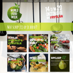 Ontwikkeling en realisatie website World Food Week